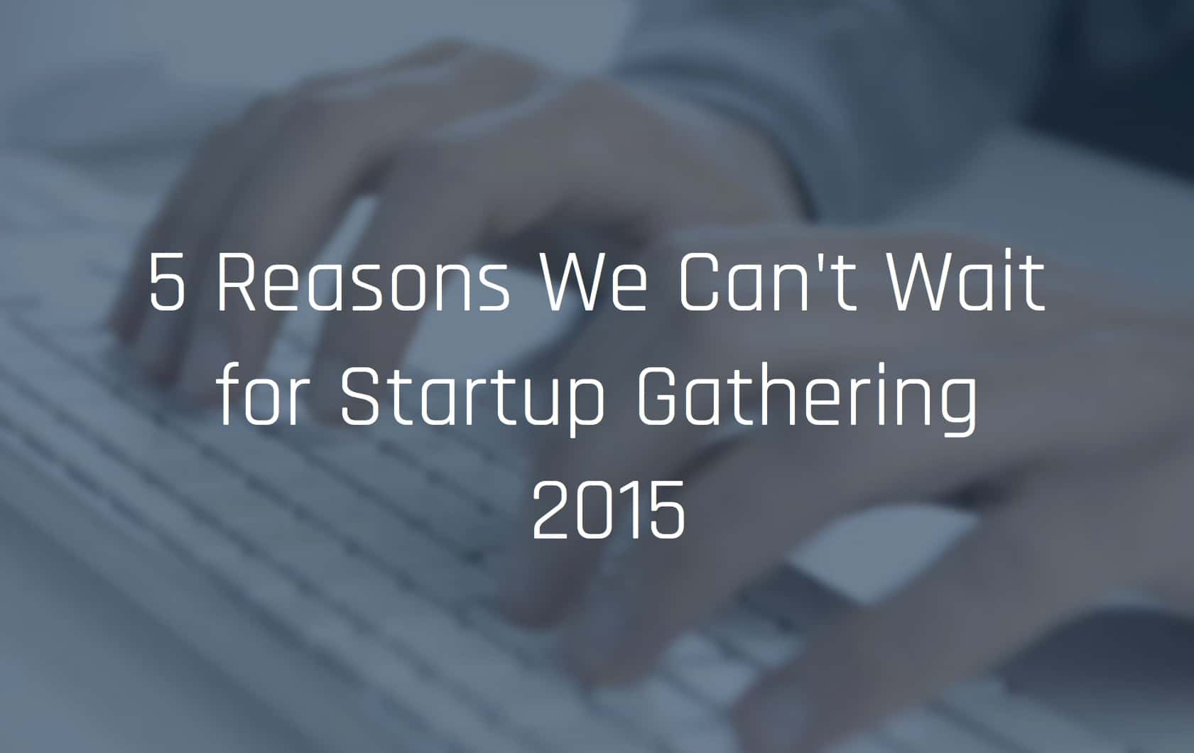 Startup Events 2015