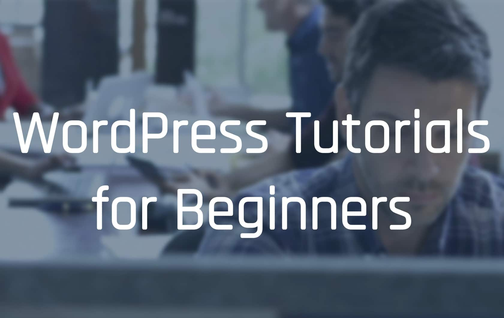 WordPress Tutorial for Beginners