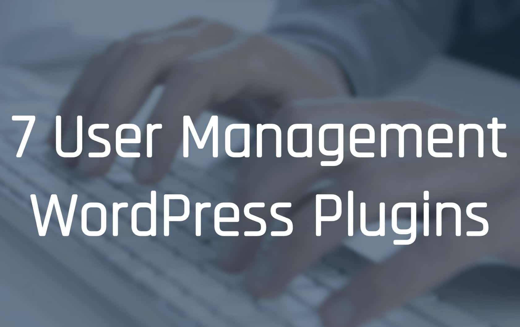 WordPress User Management