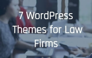 7 WordPress Themes for Law Firms
