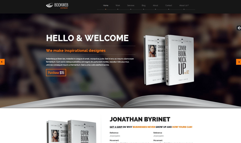 Bookish Top Result 60 Awesome Wordpress Templates for Authors Picture 2017 Xzw1