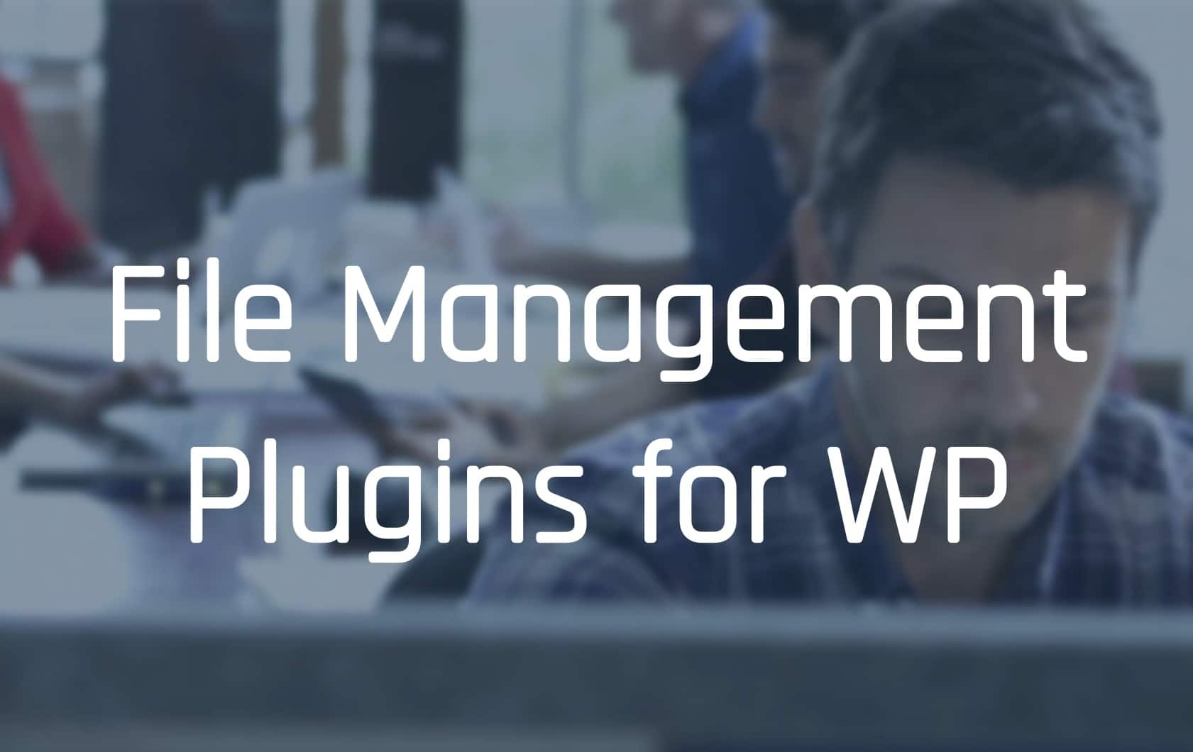 WordPress File Management