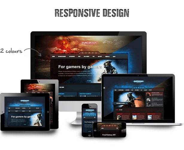 7 WordPress Themes for Gaming