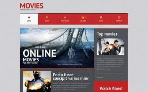 WordPress themes for Movies