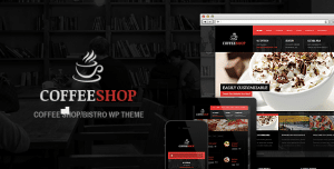WordPress Coffee Shop Themes