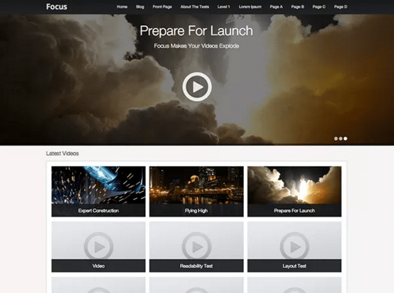 6 free wordpress themes for video sharing