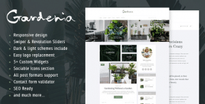 WordPress Themes for Landscapers