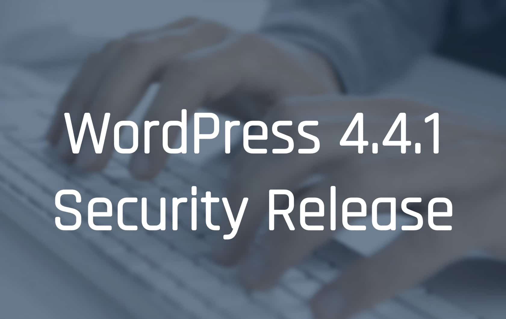 WordPress 4.4.1